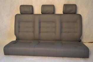 Автомобильный диван трансформер «Премьера» бизнес - темно серый